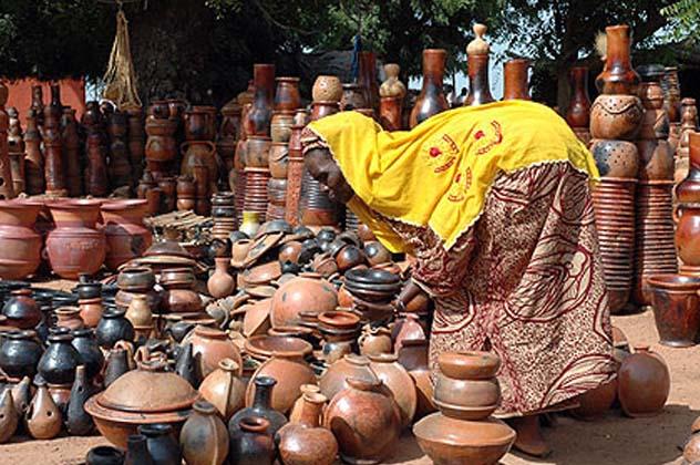 image Village potier de kalabougou